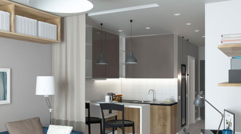 Декілька порад для власників маленьких квартир Кухні.IF img