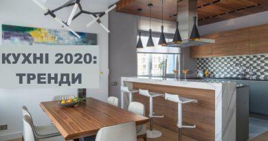 Кухні 2020: Тренди
