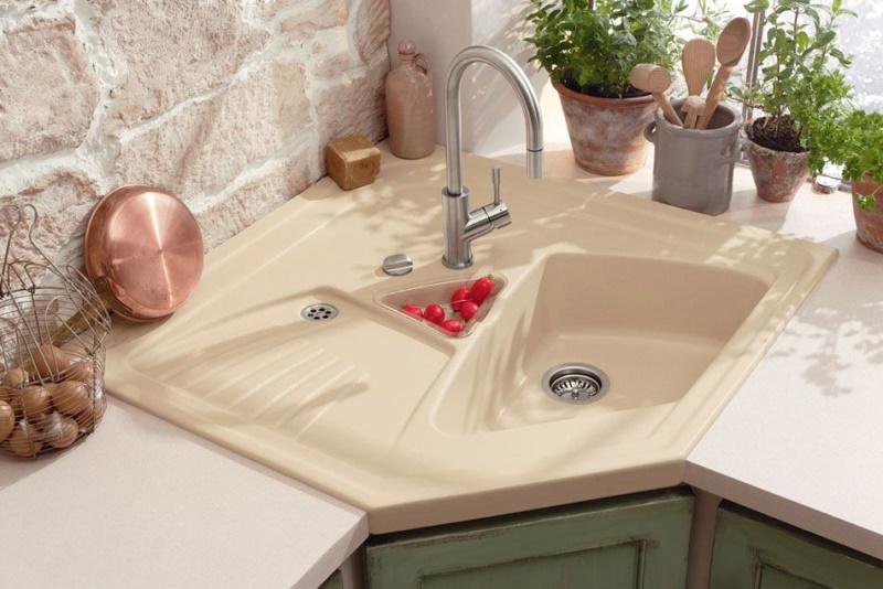 Кутові мийки фото Кухні.IF